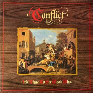 Conflict ‎- It's Time To See Who's Who (LP) (VG/VG-)